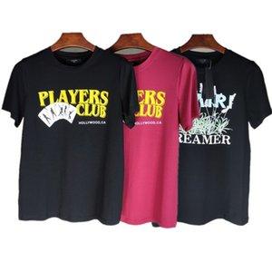 hommes d'été chemise 20SS AM1R1 imprimé Hommes T-shirt Homme Femme Streetwear style T-shirt Hip Hop T-shirt Haut Impression Tee Lettre