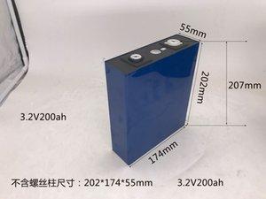 8PCS NOUVEAU 3.2V 195Ah batterie LiFePO4 4S solaires lithium cellules LFP 12V200AH non 100Ah pour le pack EV Golf Marine RV UE TAX FREE
