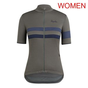 RAPHA team 2019 Велоспорт с короткими рукавами трикотаж дышащий Quick Dry Polyester New Открытый велосипед качества летней езды на велосипеде одежда женская 53184