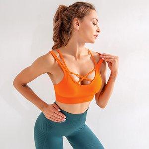 SVOKOR Push Up Sports Solid Bra Seamless Breathable Sports Yoga Running Fitness Underwear Female Sport Bras