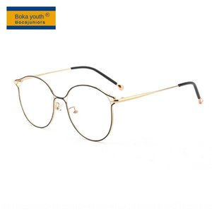 pdFg3 Adult anti-blue irregular personality frame big face decoration myopia HS28033 Adult anti-blue irregular personality Glasses Glasses f
