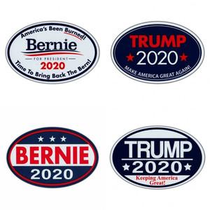 Эллипс магниты на холодильник Трамп Берни 2020 письма шаблон наклейки многоцветные президентские выборы стиль наклейки горячие продажи 1 6jw L1