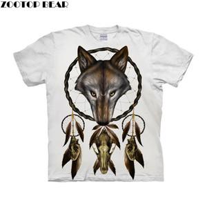 Cage le loup par ALI Art T-shirts Hommes Manches Courtes Femmes T-shirts 2019 Été O-cou T-shirts Manches Courtes Tops Drop Ship ZOOTOP BEAR