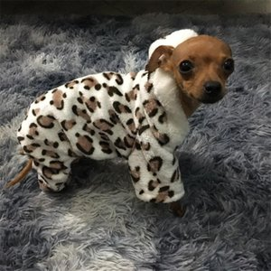 Soft Leopard Print Pet Dog Clothes Coat Costume Yorkshire Chihuahua Dog Clothing Small Puppy Dog Coat