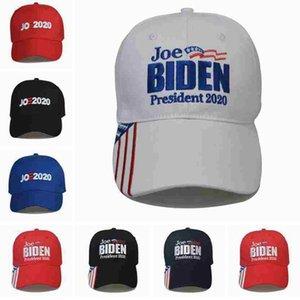 Joe Biden Baseball-Mütze 7 Styles amerikanische Wahl justierbare Baseballmütze Außen Brief Stickerei Joe 2020 Cap Party-Hüte ZZA2197