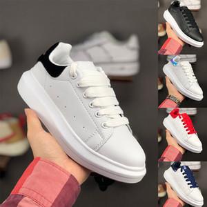 2019 promozione moda scarpe casual appartamenti moda 3m riflettente spessa suola in pelle scarpe da passeggio all'aperto al giorno vestito da partito sneakers 36-45