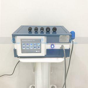 Máquina de terapia de onda de choque profesional Presión de aire 8 Barras Equipo de onda de choque onda acústica onda extracorpórea dolor de dolor de alivio de salón de salón.