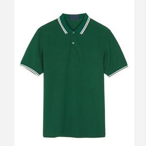 100% algodón de Nueva Inglaterra Polos para hombre del ajustado de los Polos Camisetas Hombre Calle bordado Homme camisetas de los hombres camisa