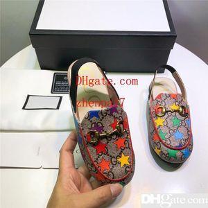 Designer Kinder Schuhe Luxus Kinder Sandalen Bunte Sterne Sandalen Mode Lässig Kinder Sommer Schuhe mit Box Hochwertige Schuhe