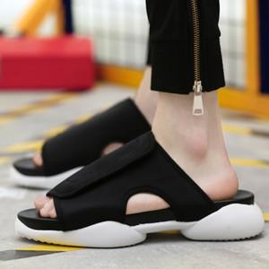 2020 estilo y3 tamaño de Di-s zapatillas personalidad masculina sandalias masculinas zapatos Caltha arrastre gladiador 39-44