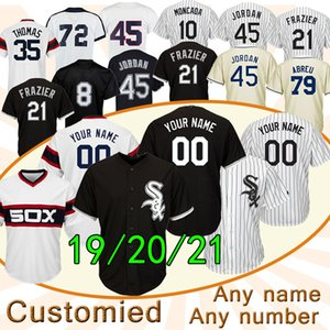 White Sox TOP 45 Michael Jersey 7 Tim Anderson 10 Yoan Moncada 21 Todd Frazier 35 Frank Thomas CHICAGO 79 Jose Abreu costume baseball jerseys