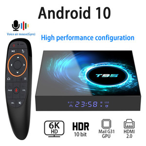 Android 10.0 TV Box 6K 4K 1080P Youtube Netflix H616 Quad Core 4GB 32GB 64GB H.265 Wifi 2.4G Media Player Set Top Box Voice Control