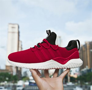 2019 With Box Breathable sneakers foreign trade explosion models canvas shoes students outdoor warm men's shoes factory