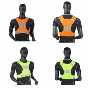 Visibility Reflective Vest Outdoor Safety Vests Cycling Vest Working Night Running Sports Outdoor Clothes Traffic Warning Clothes EZYQ508