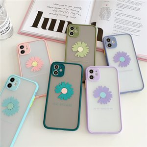 Korea ins Cute 3D Daisy Soft Phone Case For iPhone 11Pro Max X XR Xs Max iPhone 6 6s 7 8 Plus Wholesale
