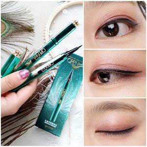 Павлин Eyeliner Pen Black Liquid Eyeliner Карандаш Продолжительное Водонепроницаемый Eye Liner Макияж красоты Косметические инструменты Gecomo Peacock Open