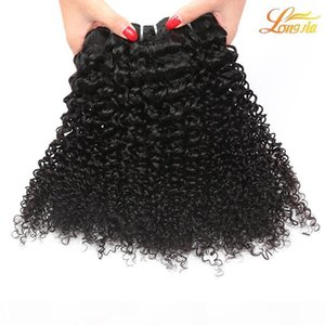 L Malaysian Virgin Hair Extension Kinky Curly Unprocessed Deep Curly 100 %Human Hair Weft Natural Color Can Be Dyed 8 &Quot ;-26 &Quot