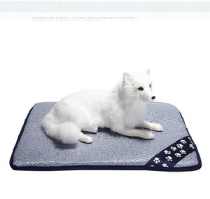 Cooling Pad Mat Bed for Dogs & Cats, Extra Large - Non Toxic, Non Sticking, Skin-Friendly, Keep Pets Cool, Prevent Overheating & Dehydration