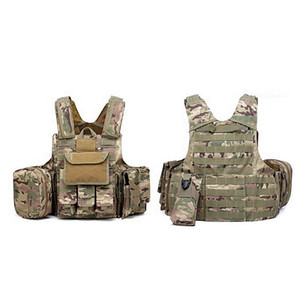 Outdoor Multicam Cp Acu Tactical hunting Vest Strike Battle Combat Airsoft Molle Hunting Assault Plate Carrier Vest Lightweight