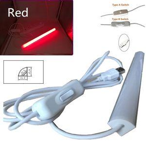LED-Stab-Licht 2835 Aluminium-LED Rigid-Streifen-Licht L-Form für Wandecke Küchenunterschrank Licht 90 Grad Wand JK0006A