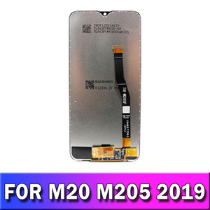 ORIGINAL 6.3 Inch LCD for SAMSUNG Galaxy M20 2019 Display Touch Screen Digitizer Assembly SM-M205 M205F M205G LCD For SAMSUNG M20