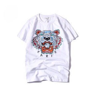 uomini di kenzo shirt mens donne 2020 luxury designer t shirts clothes tiger embroidery men women casual short-sleeve t shirt kenzo S-XXL