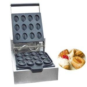 Vente chaude Commerciale Électrique 12 pcs café de haricots gaufrier Cookie gaufrier électrique gaufre faisant la Machine