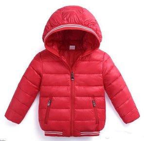 Kids OuterwearCoats Wintermantel Kinderkleidung Kinderbekleidung Baby Thicken Jacken Jungen und Mädchen Fashion Warm Coat für 0-6Y