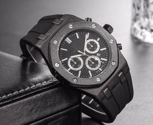 Top marque grande taille montre hommes luxe Designer automatique date calendrier or montre style sport militaire silicone grand numérique horloge masculine