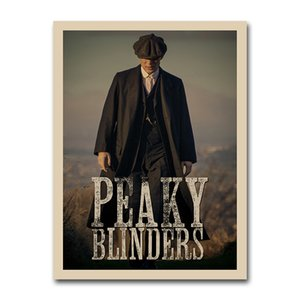 Peaky Blinders 5 TV Series Poster Vintage Wall Art Silk Print Wallpaper 12x16 16x20inch Artwork Picture for Living Room Decor002