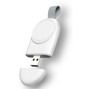 Cabo de carregamento usb magnético portátil para iWatch 38 40 42 44mm adaptador carregador para Apple Watch Series1 2 3 4 mini carregador rápido sem fio