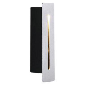 Wall Light Interni Esterni IP65 PIR del sensore di movimento del CREE 3W ha condotto Stair Steps lampade angolo di decorazione Corridoio illuminazione