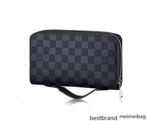 Xl Zippy Wallet N41590 Men Belt Exotic Leather Iconic Bags Clutches Portfolio Wallets Purse