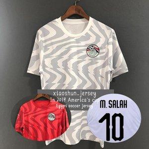 19 20 Copa America Mısır deplasman forması Ali Gabr SALAH KAHRABA A. HEGAZI RAMADAN M. ELNENY 2019 2020 Mısır Tayland versiyonu gömlek