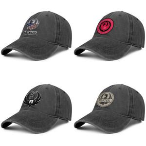 Ruger American Flag Metall Unisex Fashion Baseballmütze Dad Designer Adjustable Vintage-Hut Niedlicher Denim Arme Makers Für Verantwortlich Schwarz
