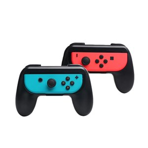 New 2pcs set ABS Gamepad Grip Handle Joypad Stand Holder for Nintendo Switch Left Right Joy-Con Game Controller