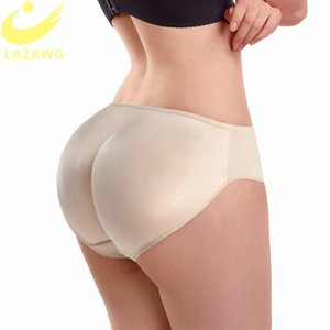 LAZAWG Booty Lifter Shaper Bum Lift Pants Glutei Enhancer Boyshorts Slip Shapewear imbottito Controllo Mutandine Shapers