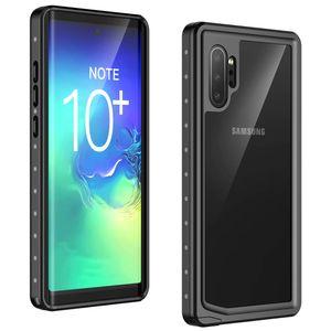 Samsung Galaxy Not Için redpepper 10 Artı / 5G Su Geçirmez Kılıf Dot Serisi Slim Fit IP68 Sertifikalı Darbeye Dirtproof karla ...