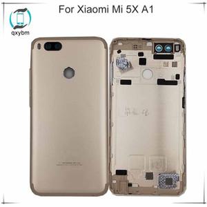 """5,5 """"für xiaomi mi 5x mi5x a1 batterie rückseitige abdeckung hintere tür gehäuse mit kamera glaslinse ersatz reparatur ersatzteile"""