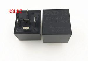 Free shipping lot (5 pieces lot) original New ZD-V4-1Z-12VDC 30A14VDC 5PINS Automobile relay