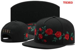 Cayler Sons Snapback Caps CSBL Rose baseball Fleur Chapeaux Adjustable Hat Cayler Fils Snapbacks Marque chapeau Gorras Casquette pour hommes, femmes