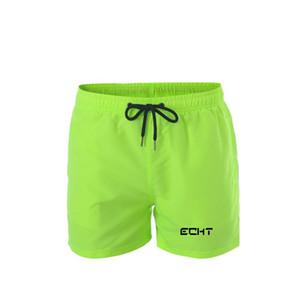 Marque Sac rapide Natation Dry Shorts pour hommes Maillots de bain homme Maillot de bain été Trunks Beach Wear Surf Boxer Brie