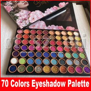 Neue Augen Make-up Lidschatten-Palette Shimmer Glitter Matte 4D Sexy Göttin 70 Farben Preseed Pigment Lidschatten-Palette