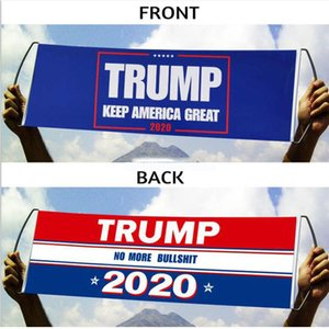 Donald Trump Flag Hand Held Trump Flag Double Sided Printed Bumper Keep America Great Flag Banner 2020 President Election Flags