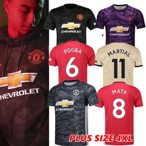 4XL más el tamaño 2020 JAMES hombre Maguire Portero Pogba Estados fútbol jerseys 19 20 maillots Manchester Utd Rashford 2019 camisas del fútbol