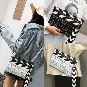Designer-Wobag Film De Mode Prop Conception En Cuir Pu Casual Femmes Sac D'embrayage Enveloppe Sac Épaule Bandoulière Messener