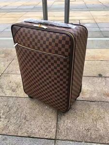 77777777777777777777777777777 Gepäck Hohe Qualität Vier Räder Trolley Tasche Männer Reise Koffer tragen auf Gepäck für Frauen Größe: 58 cm * 37cm * 19cm