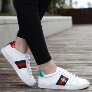 Мода мужская Повседневная обувь суперзвезда маленькая пчела женские плоские туфли женщины Zapatillas Deportivas Mujer любители Sapatos Femininos для мужчин, SIZE36-44