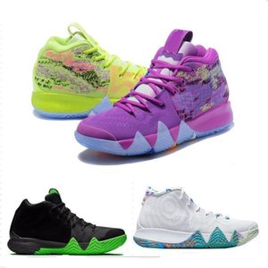 4s Kyrie IV Lucky Charms Mens Scarpe da basket Irving 4 confetti BHM EQUALITY All-Star March Madness City Guardians London Mamba Sneakers