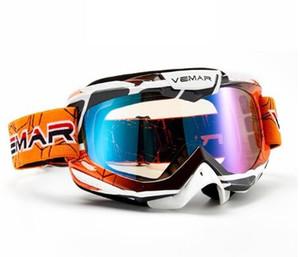 Adulte lunettes de moto lunettes Motocross hommes femmes polarisées moto mx ski goggle lunettes pour VTT dirt bike moto
